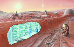 Concept Mars Colony (image: NASA Ames Research Center)