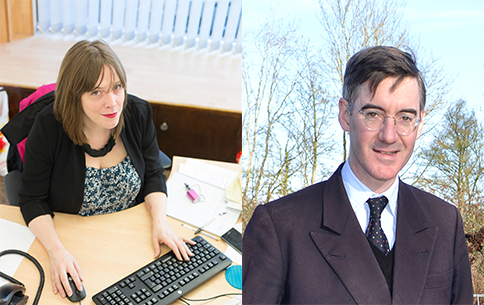 The Odd Couple? Jess Phillips And Jacob Rees-Mogg