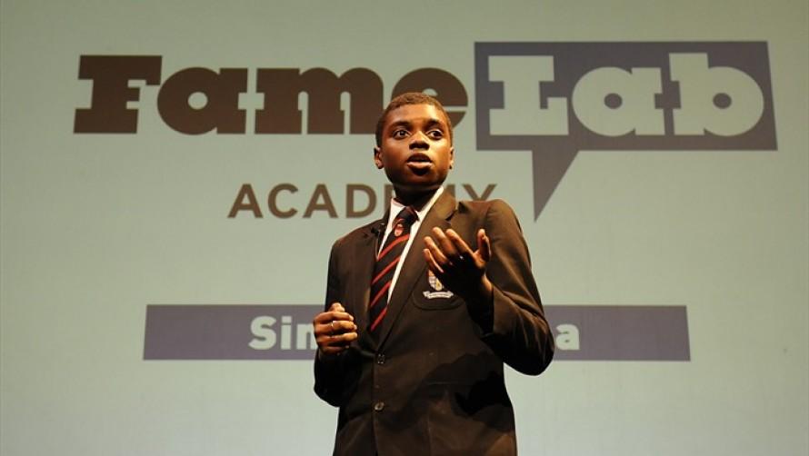 FameLab Academy winner Simi Adeshina