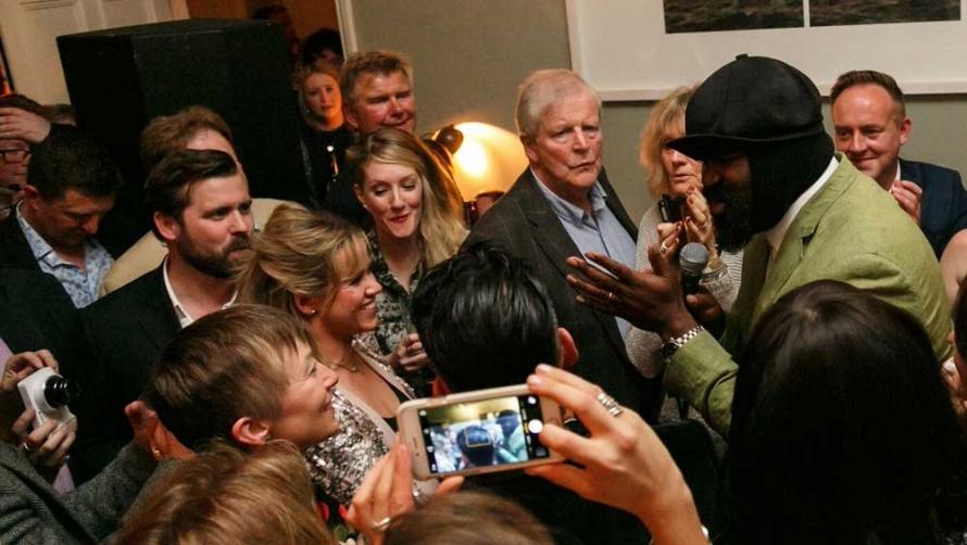 Gregory Porter, The Ultimate House Party,  Cheltenham Jazz Festival 2015 [image: mcphersonstevens.com]