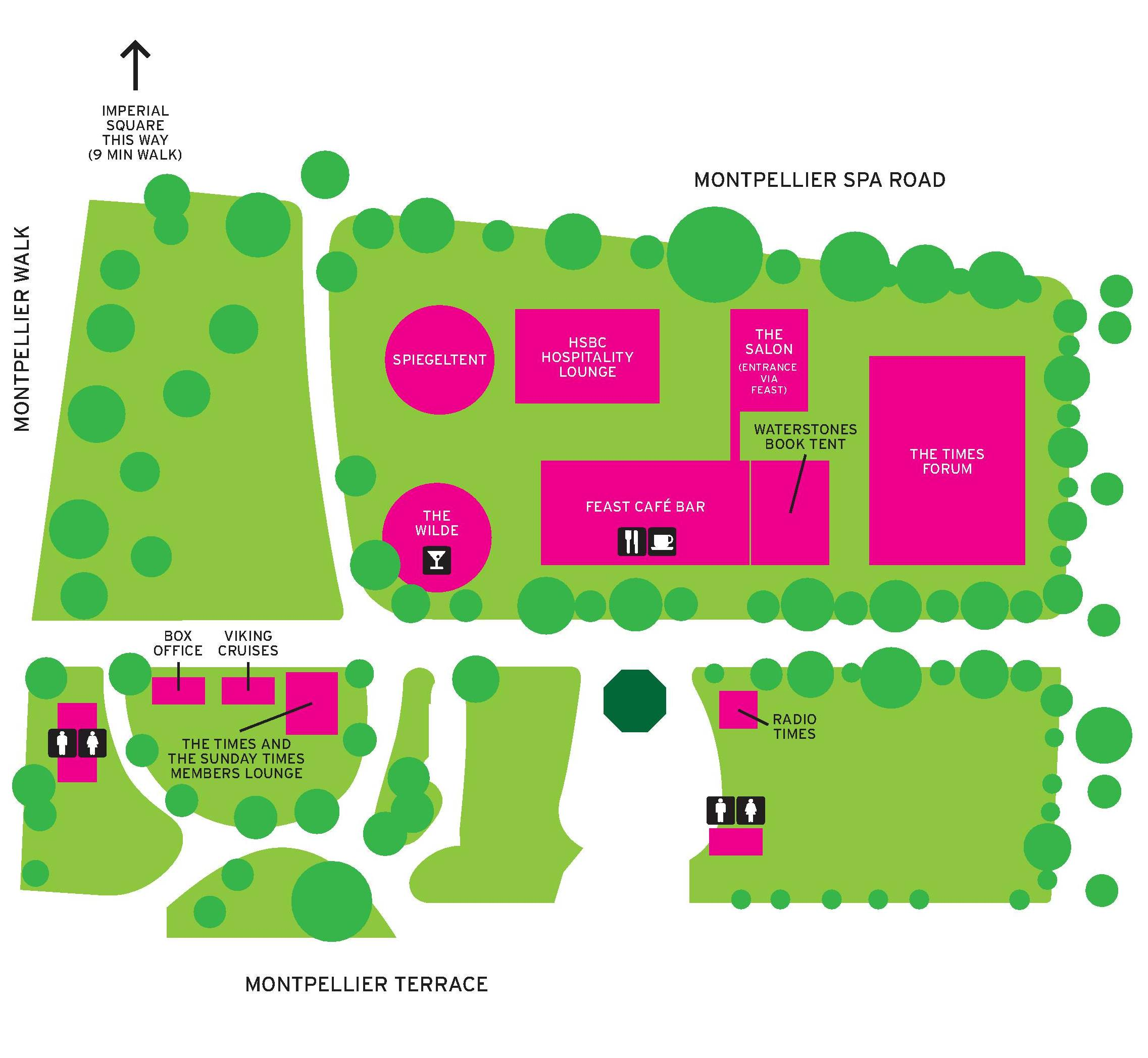montpellier gardens map