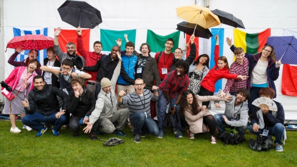 FameLab International finalists 2014