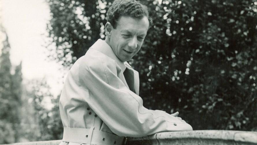 Benjamin Britten - Pittville Park, Cheltenham Festival 1949