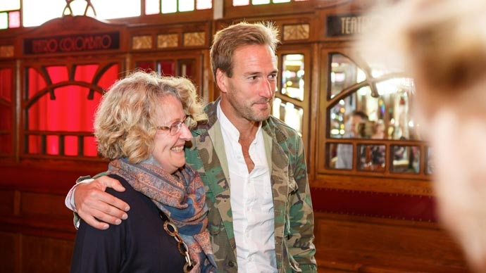 Ben Fogle - The Times and the Sunday Times Cheltenham Literature Festival 2015