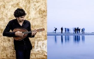 Avi Avital (image: Harald Hoffmann & Deutsche Grammophon), Barokksolistene (image: Elias Gammelgaard)