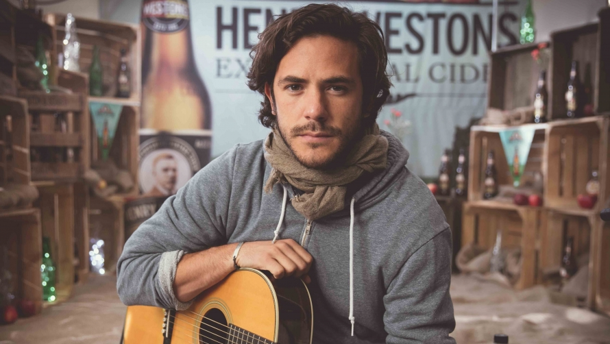 Jack Savoretti at the #cheltjazzfest 2017 Henry Westons Sessions