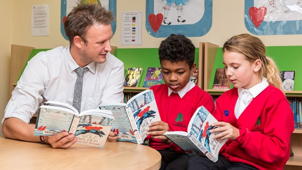 Reading Teachers = Reading Pupils