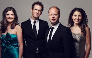 Carducci Quartet and David Cohen