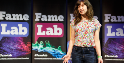 FameLab UK Final 2018 Winner Lucy Guile