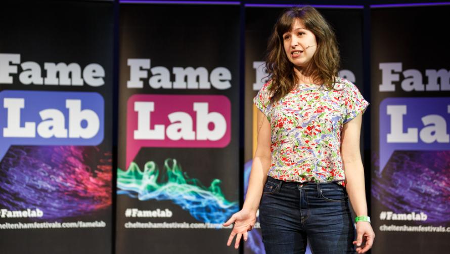 FameLab UK Final 2018 Winner Lucy Guile