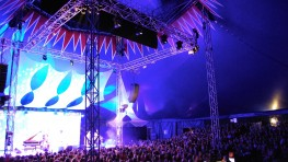 Big Top interior