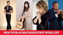 WIn Your Cheltenham Music Festival Wish List