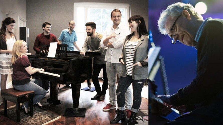 The Swingle Singers and John Taylor