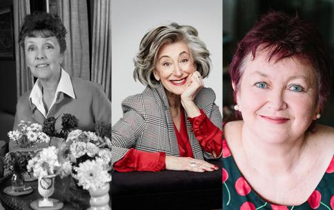 Joyce Grenfell, Maureen Lipman (Image: Jay Brooks), Janie Hampton (Image: Harley Evans)