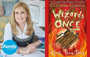 Cressida Cowell: Dragons And Wizards