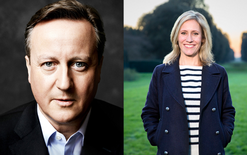 David Cameron, Sophie Raworth