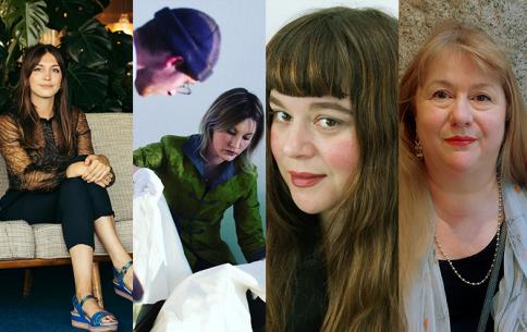 Katy Hessel (Image: Luke Fullalove), Catriona McAra, Tai Shani, Carol Jacobi