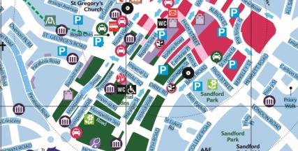 Cheltenham - The Festival Town Map