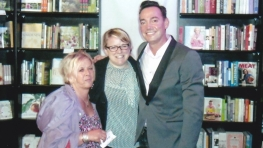 Janet Clarke (left) meeting Craig Revel Horwood