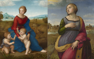 Madonna in the Meadow and Saint Catherine of Alexandria (Raphael)