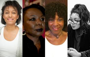 Natalie Jerome, Ellah Wakatama Allfrey, Margaret Busby, Clarissa Pabi (Image: Richard Harris)