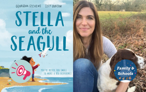 Stella And The Seagull Being The Change .png