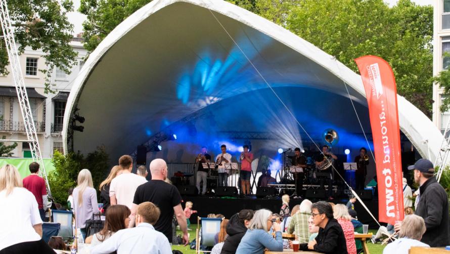 Cheltenham Music Festival Free Music Weekend Imperial Gardens