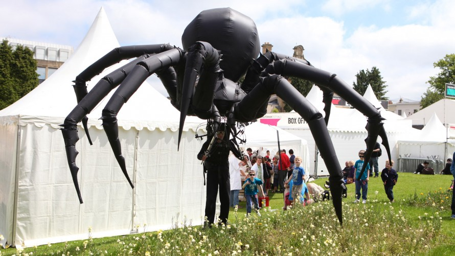 Mechanical Spider at the Science Festival