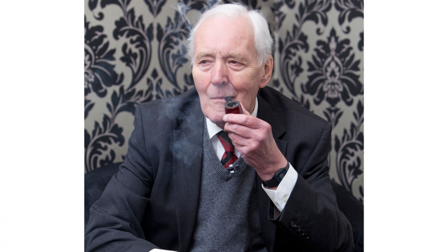 Tony Benn at The Times Cheltenham Literature Festival