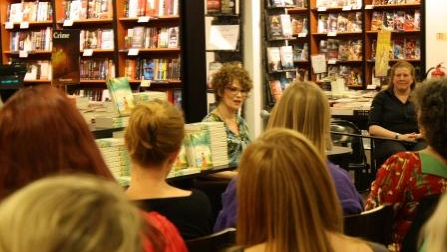 Dinah Jeffries at Waterstones