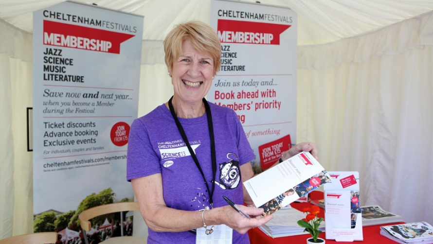2013 Cheltenham Science Festival Welcome Team
