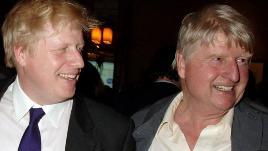 Boris and Stanley Johnson