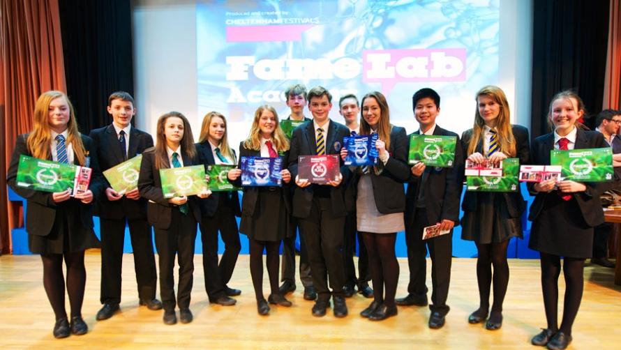 FameLab Academy Finalists 2015