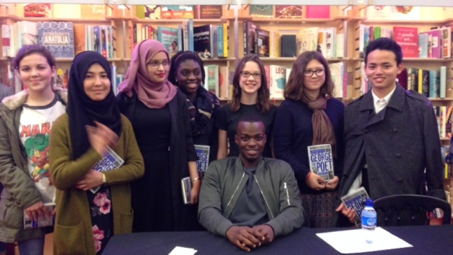 George the Poet and the winners - Literature 2015