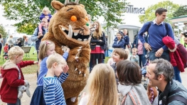 The Gruffalo, Family Fun Day - The Times and The Sunday Times Cheltenham Literature Festival 2015